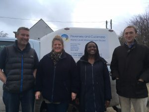Members of the Pevensey & Cuckmere Water Level Management Board team