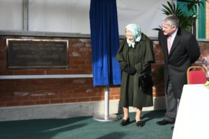 Queen Elizabeth II open new Wolferton Pumping Station